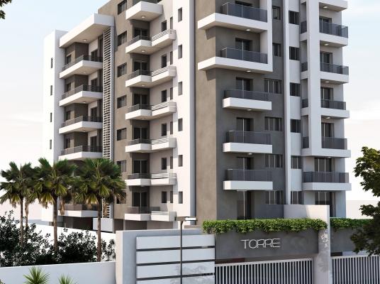 Torre en Construcción con Apartamentos de 3 habitaciones en Mirador Norte