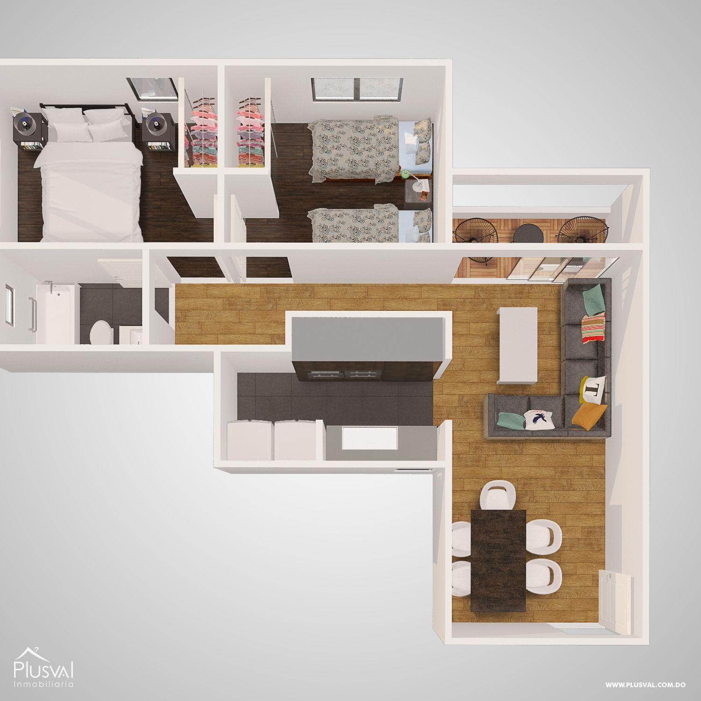 Residencial con Bono de Primera vivienda en el Distrito Nacional 179083