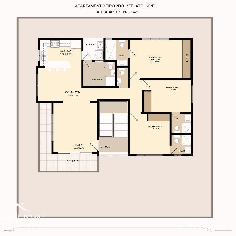 Proyecto de apartamentos en Brisa Oriental 170561
