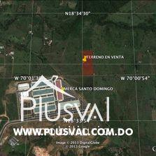 Terreno con 34,587.22 m2 en Venta en Km. 22 justo detrás del Merca Santo Domingo 162784