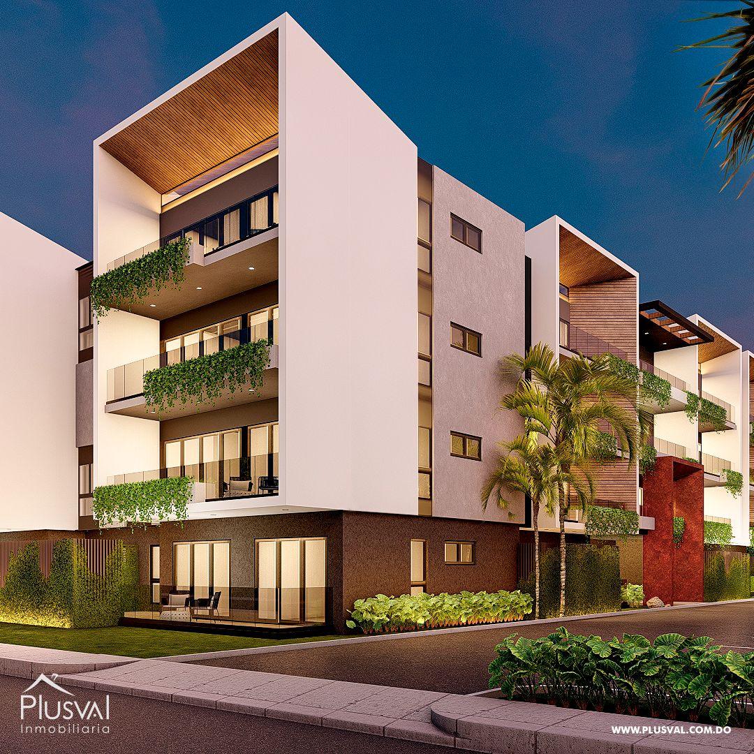 Apartamentos en Venta, con moderno estilo, en Las Canas, Cap Cana 175550
