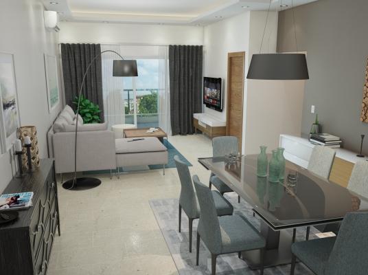 Apartamento de 3 habitaciones en venta en El Millón