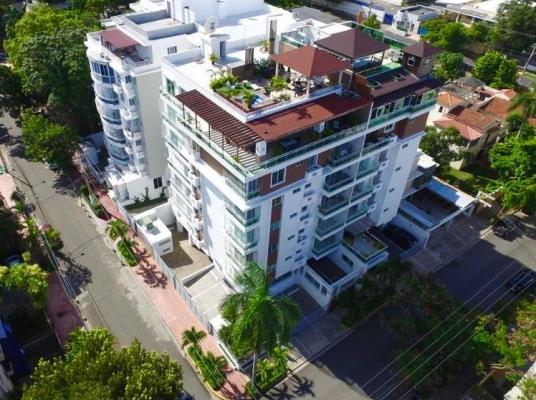 Penthouse en ventas, Gazcue