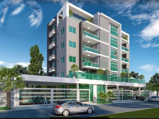 Proyecto de apartamentos de 1, 2 y 3 habitaciones
