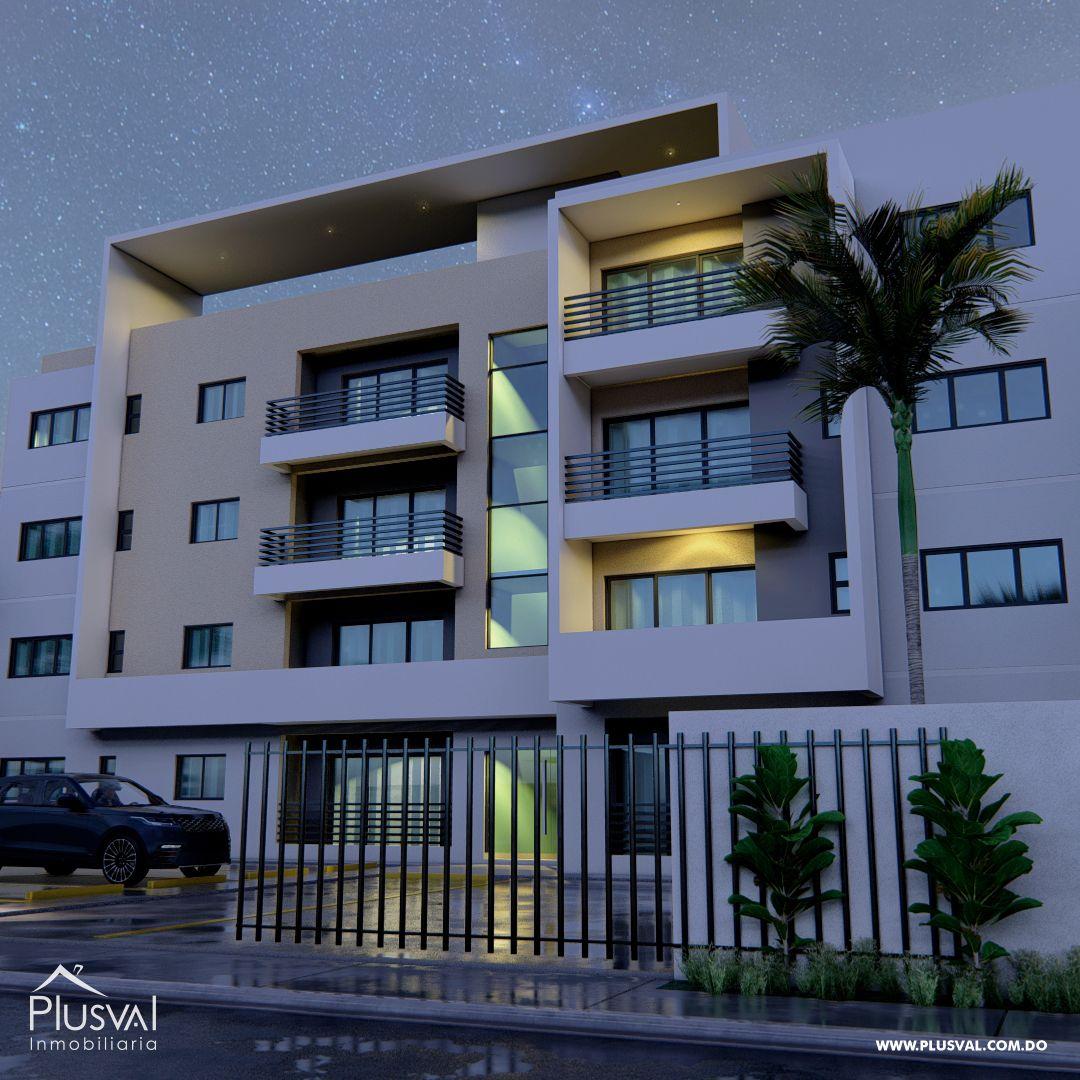Moderno Edificio de Apartamento