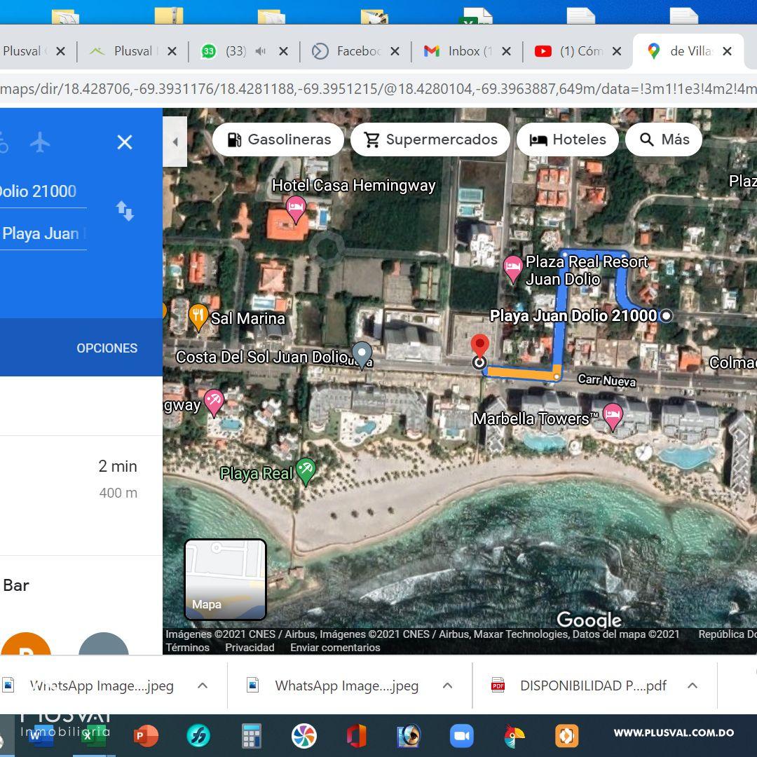 Proyecto de apartamentos en Juan Dolio a 400 mts de la playa 179560