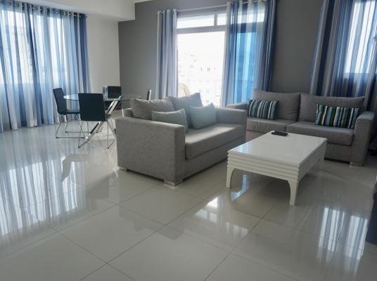 Apartamento en alquiler amueblado, Evaristo Morales