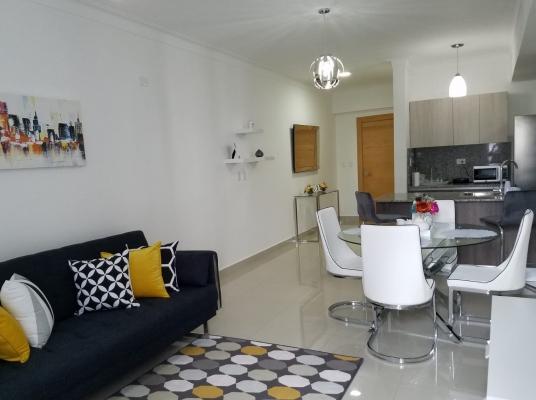 Moderno apartamento en alquiler, Naco