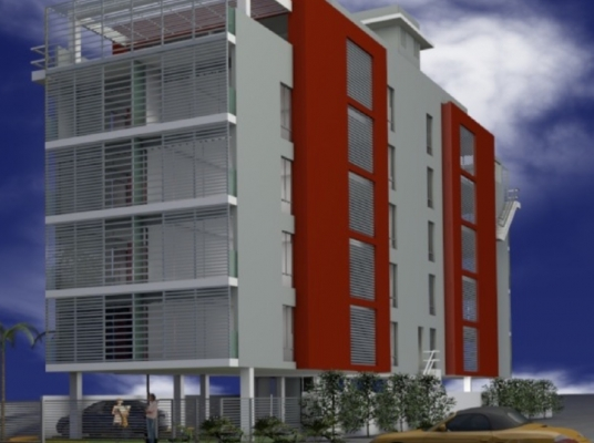 Proyecto de 2 habitaciones en Gazcue
