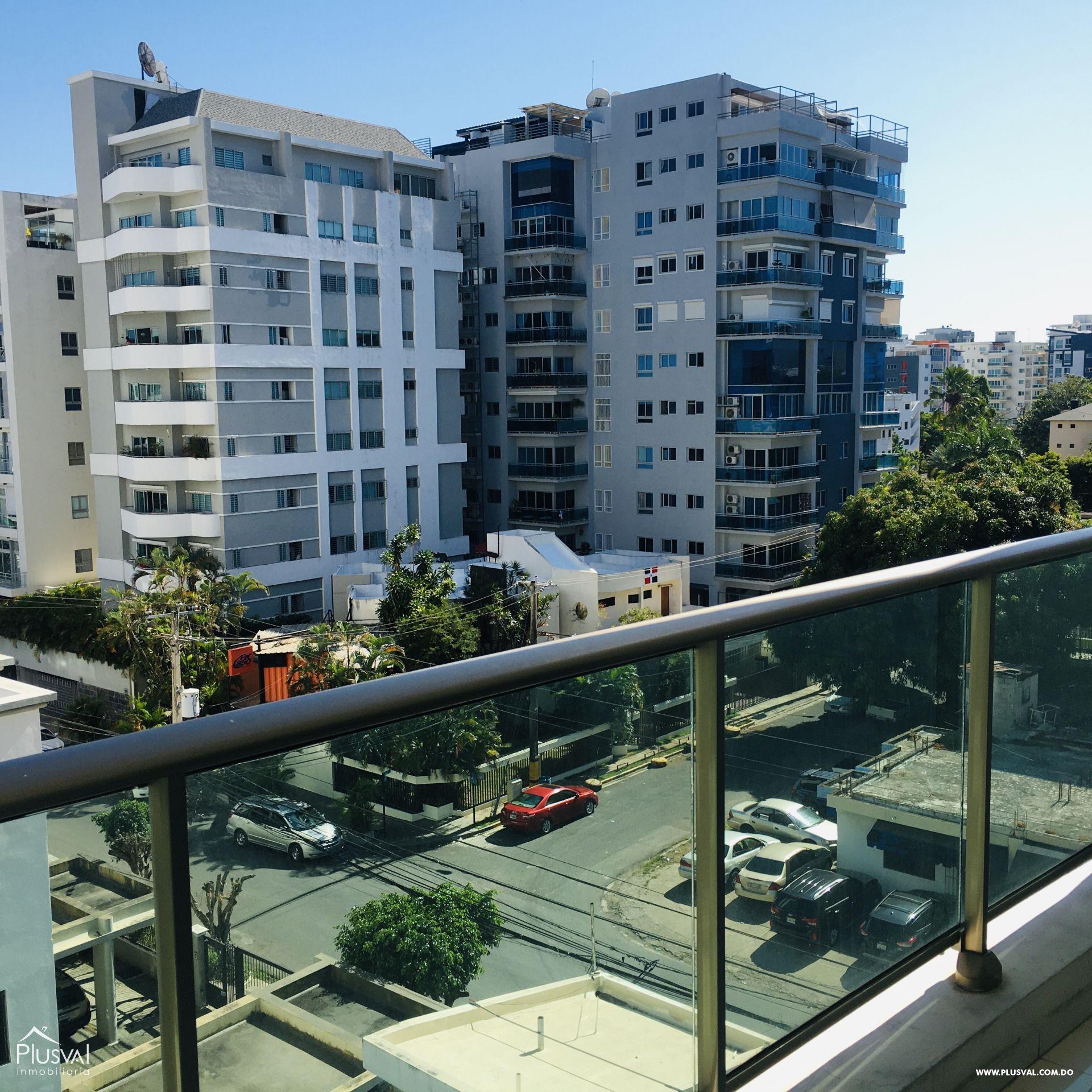 Apartamento de alquiler en Evaristo Morales