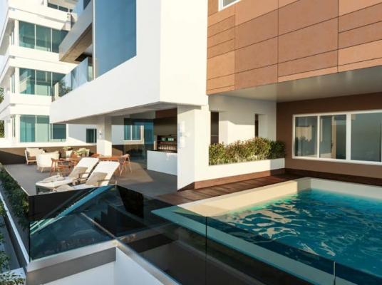Proyecto de apartamentos en venta, Naco 1 por piso