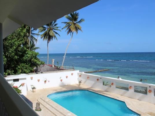 Villa en primera linea de Playa en alquiler - Guayacanes