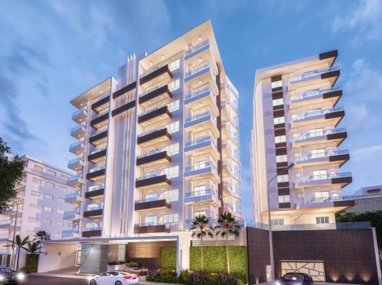 Lujosa torre para inversión, La Esperilla apartamento a la venta