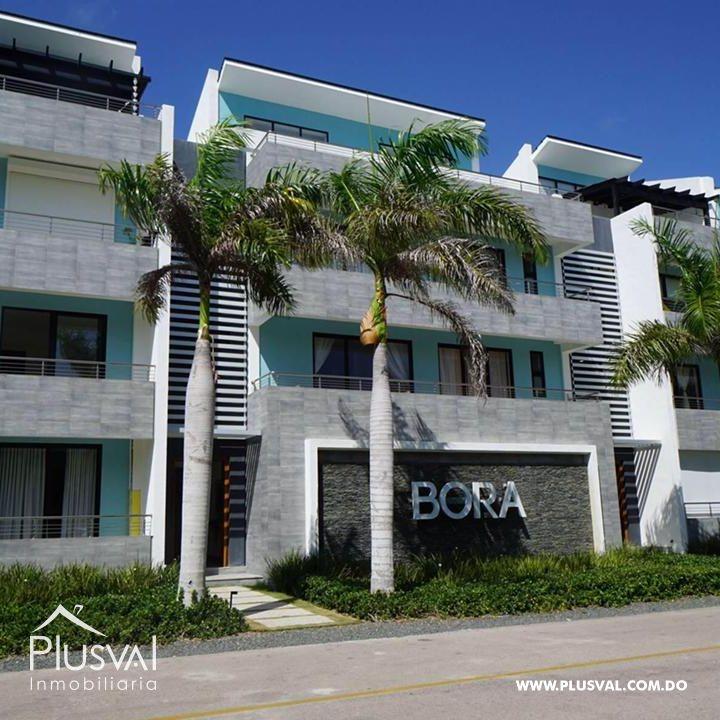 Apartamento de 2 habs amueblado en Venta, en Puntacana Village con piscina 167260