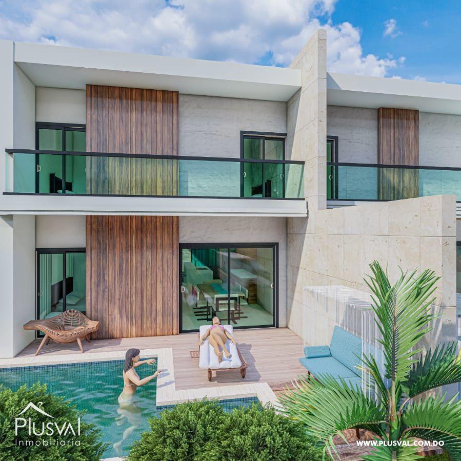 Elegantes Villas de dos niveles en Vista Cana 183824