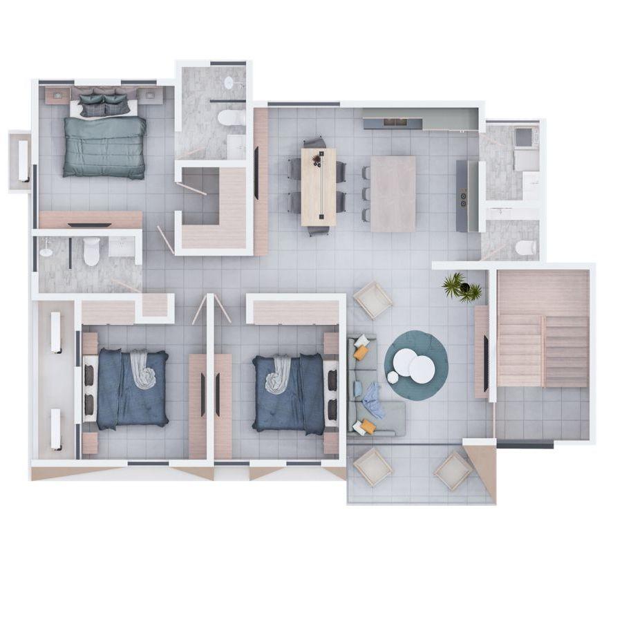 Apartamento moderno en Urb. Thomen 188635