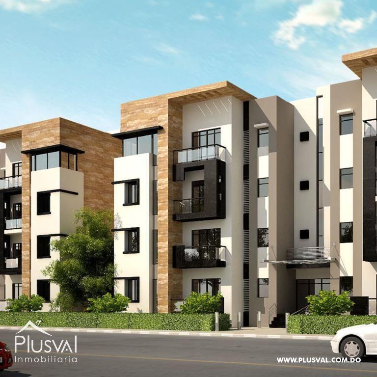 Proyecto Residencial de apartamentos con Plaza Comercial Frontal cerca del Ney Arias Lora