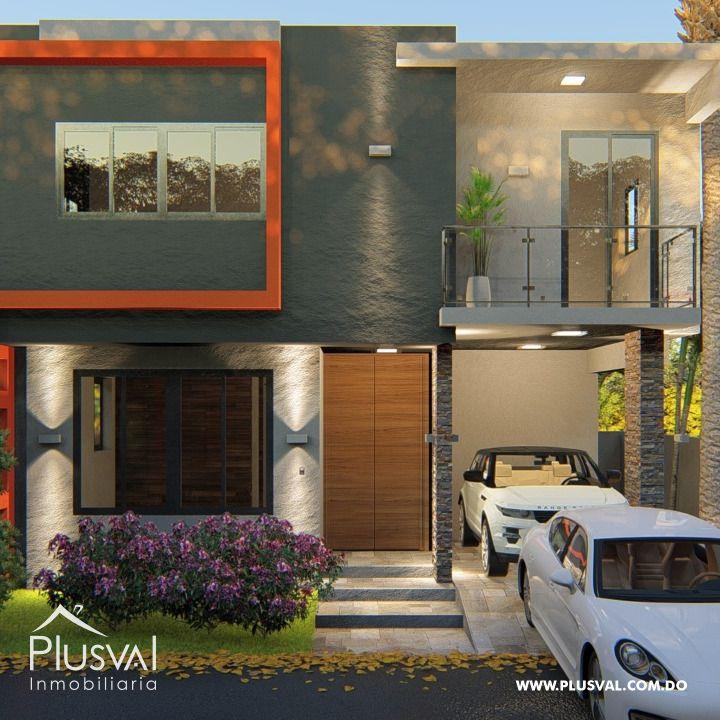 Proyecto Residencial cerrado estilo minimalistas, en Torre alta Puerto Plata.