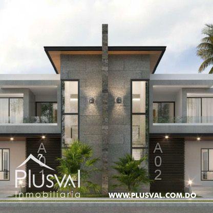 Casa de 3 habs con Picuzzi en venta, en Punta Cana 173019