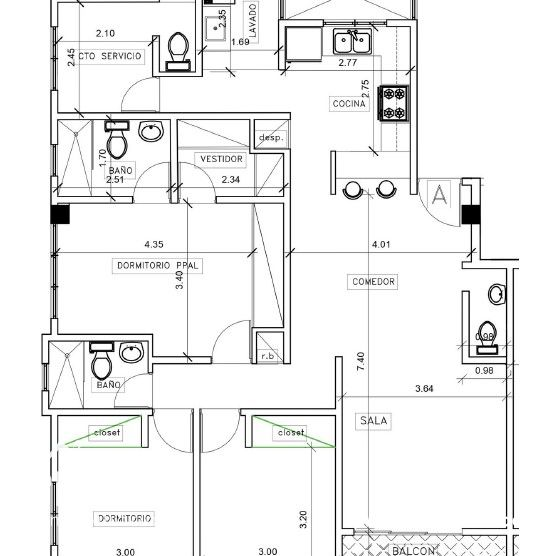Apartamento en Venta, Urb. Tropical 169426