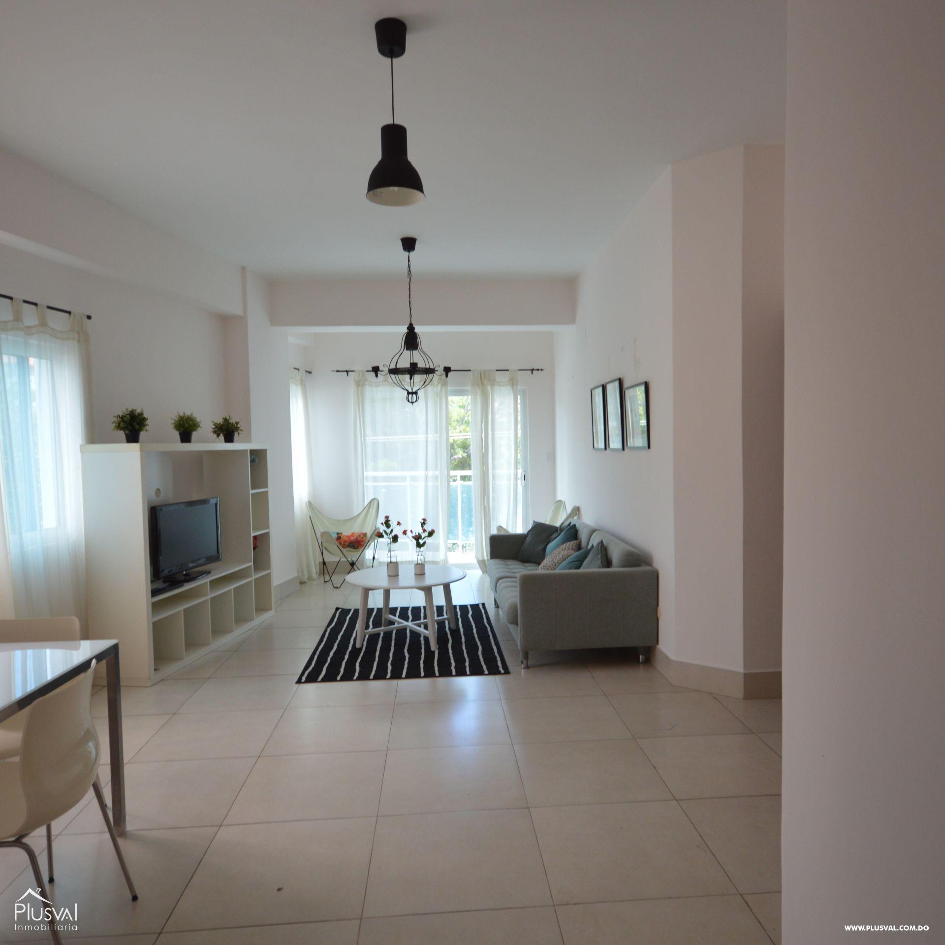 Amplio apartamento amueblado en alquiler, El Vergel