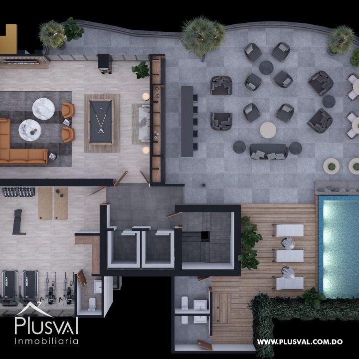 Apartamento de 1 Habitacion en Naco 178594