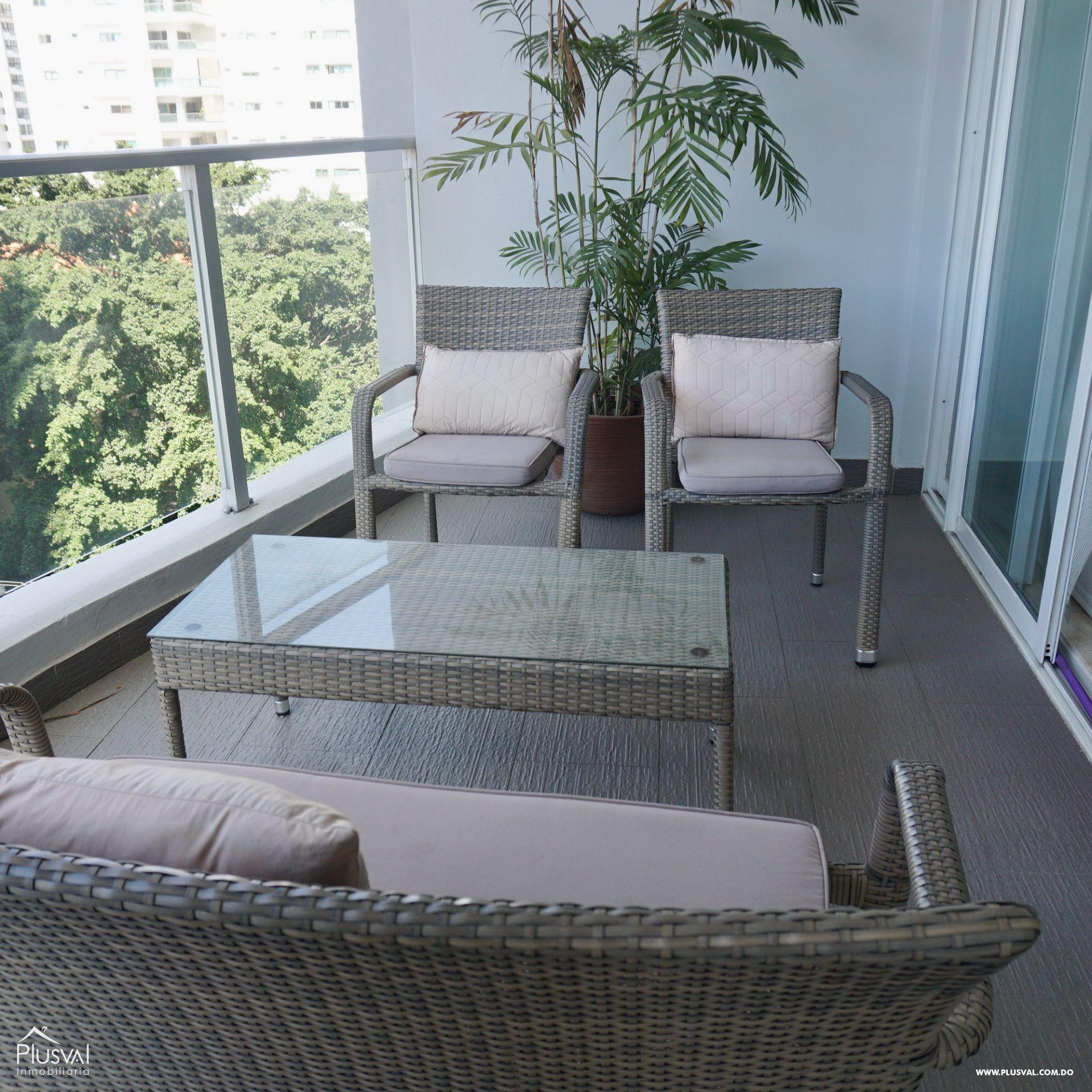 Apartamento en Alquiler Amueblado en zona Premium de Piantini 155533