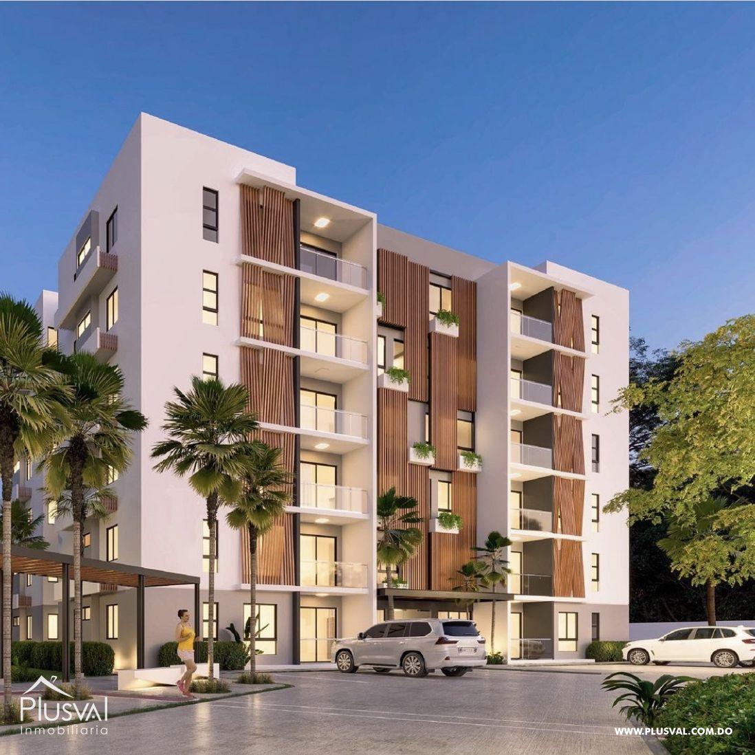 Torre moderna de apartamentos en el Dorado