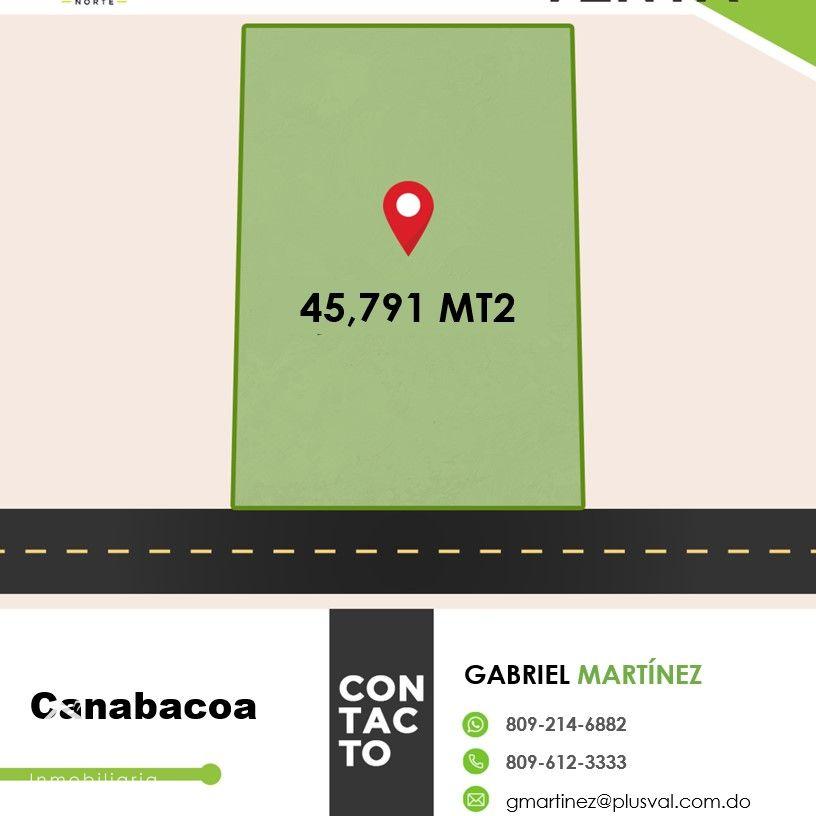 Terreno En Venta ubicado en Canabacoa