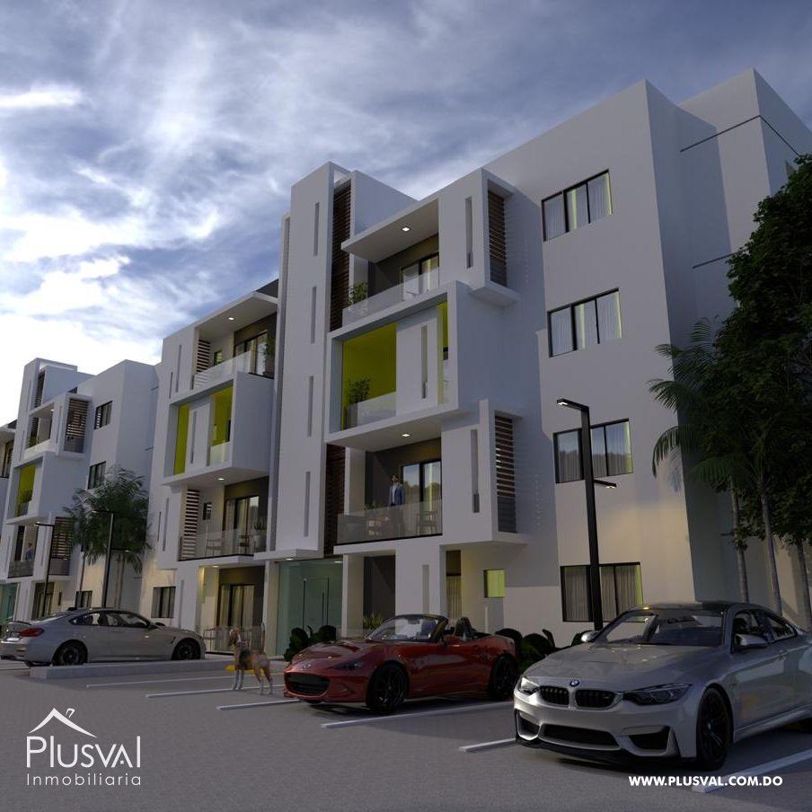 Hermosos apartamentos en residencial con piscina y gazebo en Gurabo