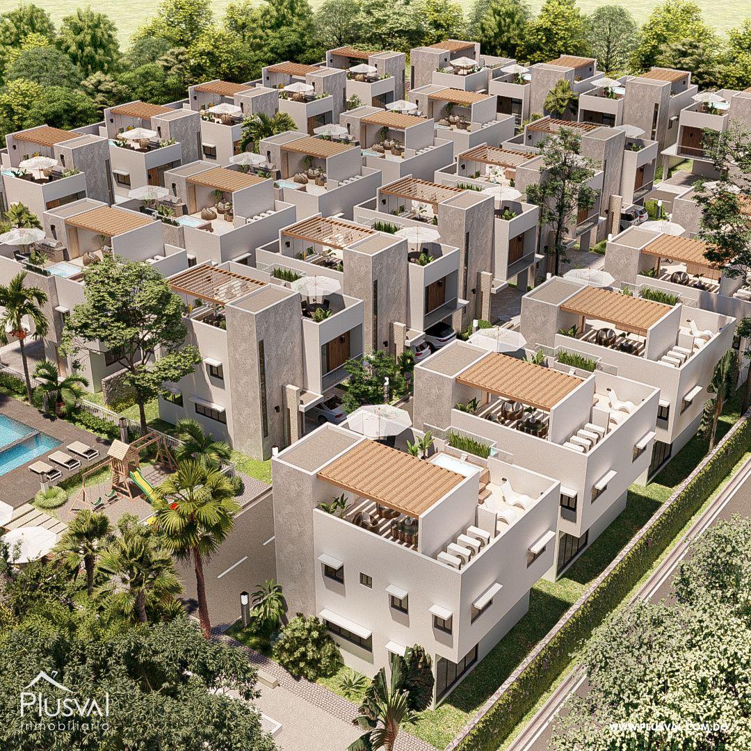 Casas en venta con Jacuzzy, en Bavaro 168470