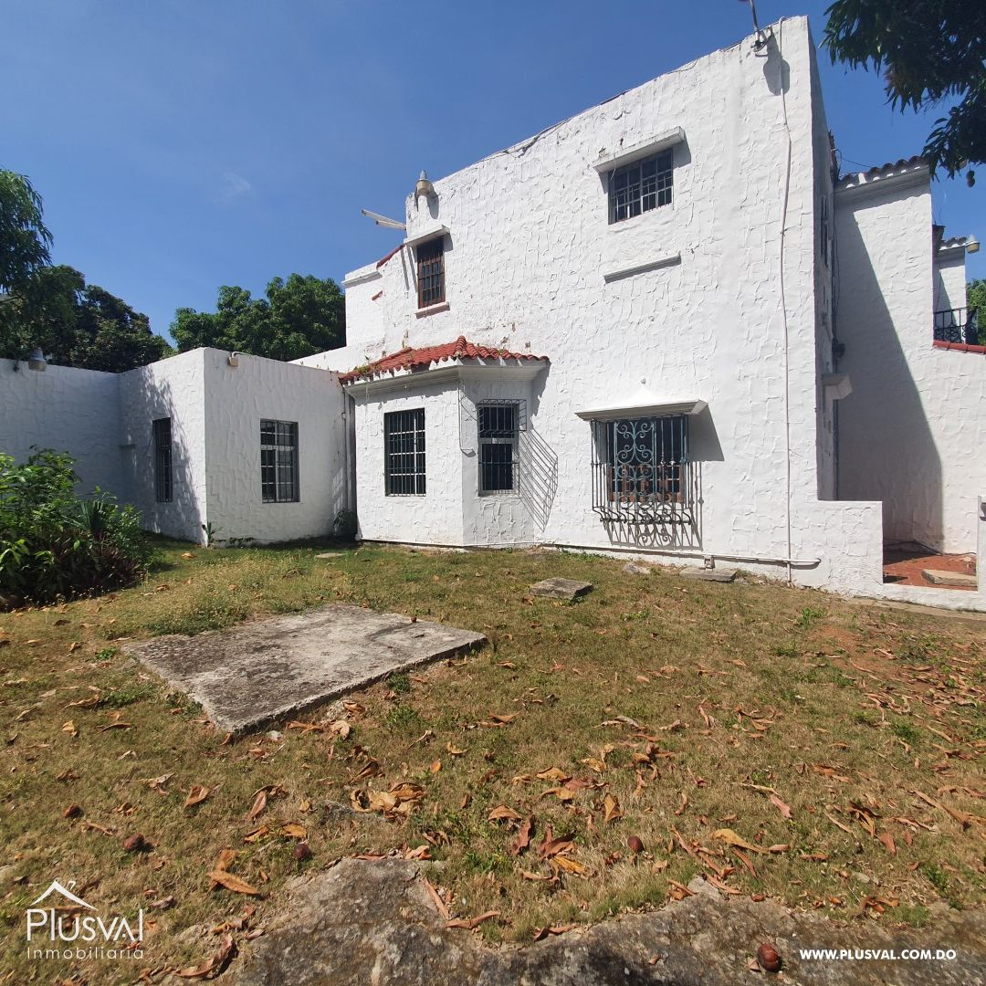 Casa en Alquiler en Gazcue 175174