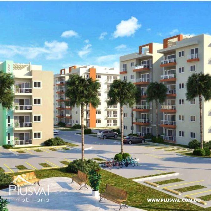 Apartamento de 2 habitaciones en Verón Punta Cana; proyecto cerrado 173996