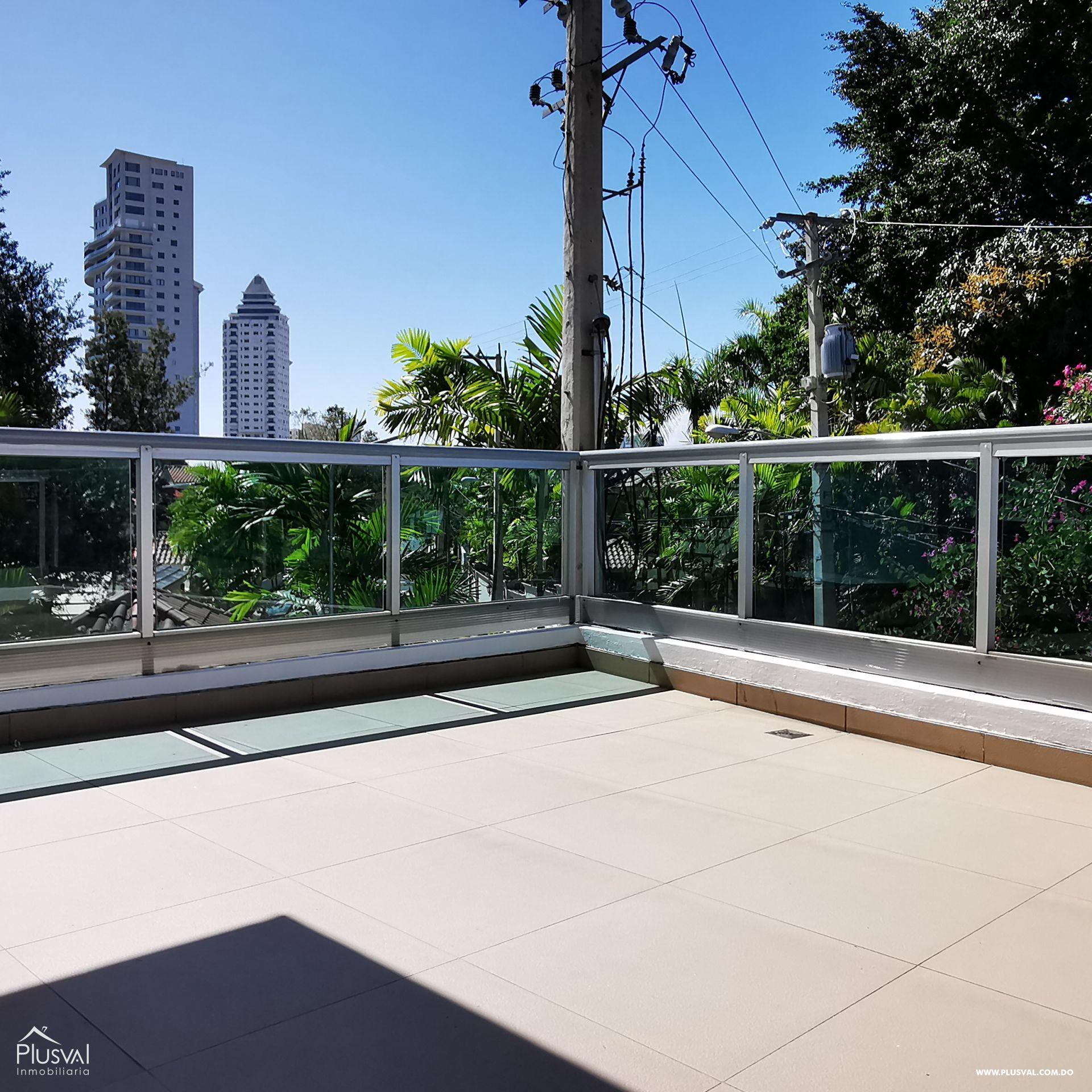 Venta Apartamento 2 Habitaciones y Terraza Privada en Torre Moderna, Los Cacicazgos