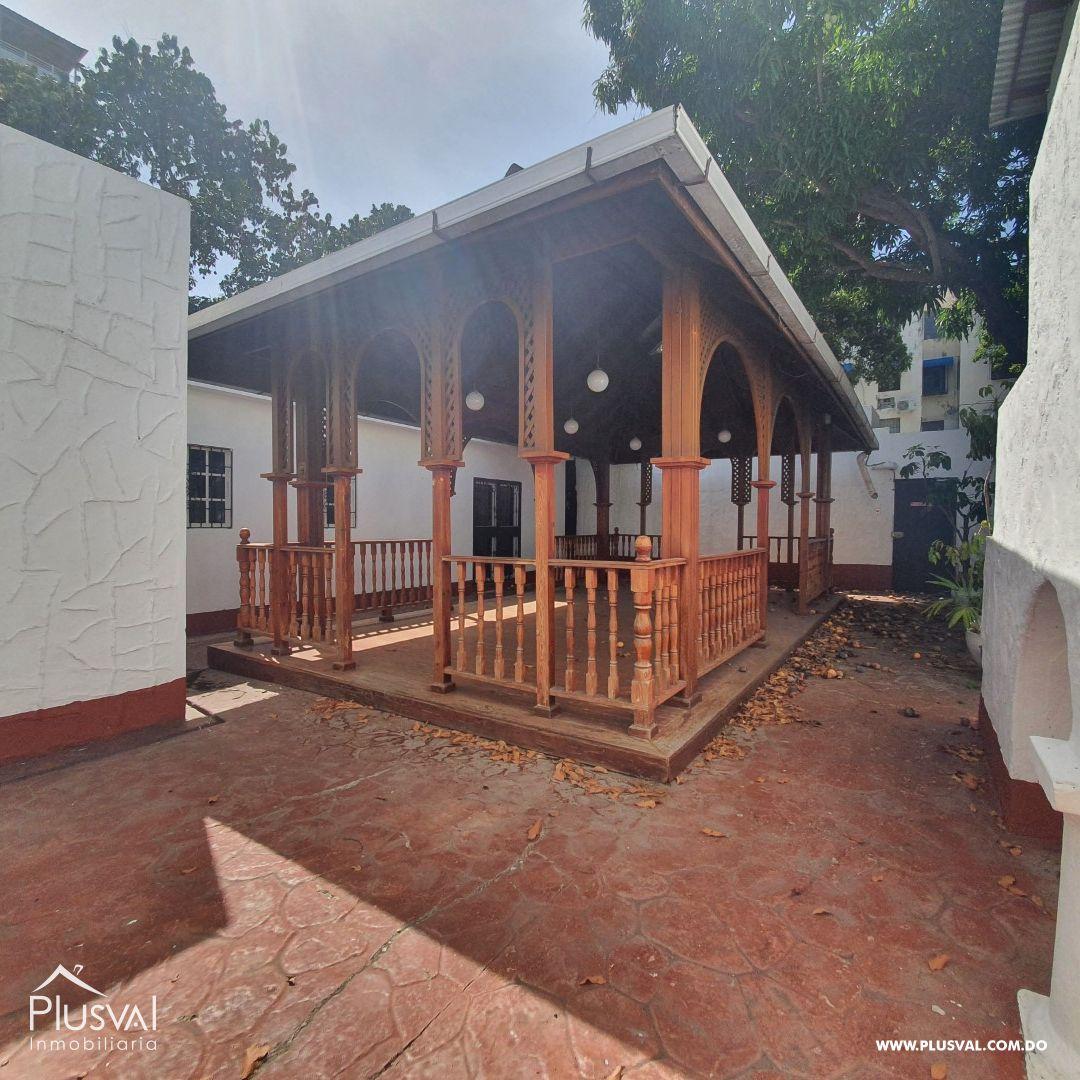 Casa en Alquiler en Gazcue 175178