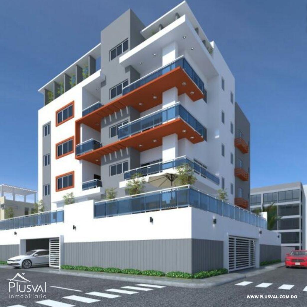 Proyecto de apartamentos de 1 y 2 Hab. con Ascensor
