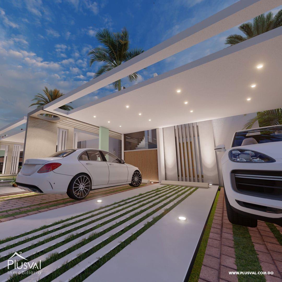 Exclusivas y modernas casas de 2 niveles en Arroyo Hondo III. 167193