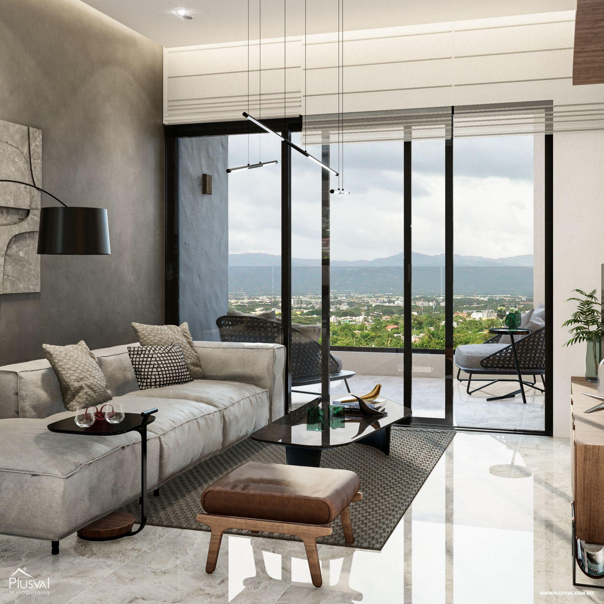 Modernos apartamentos en venta en Santiago 182608