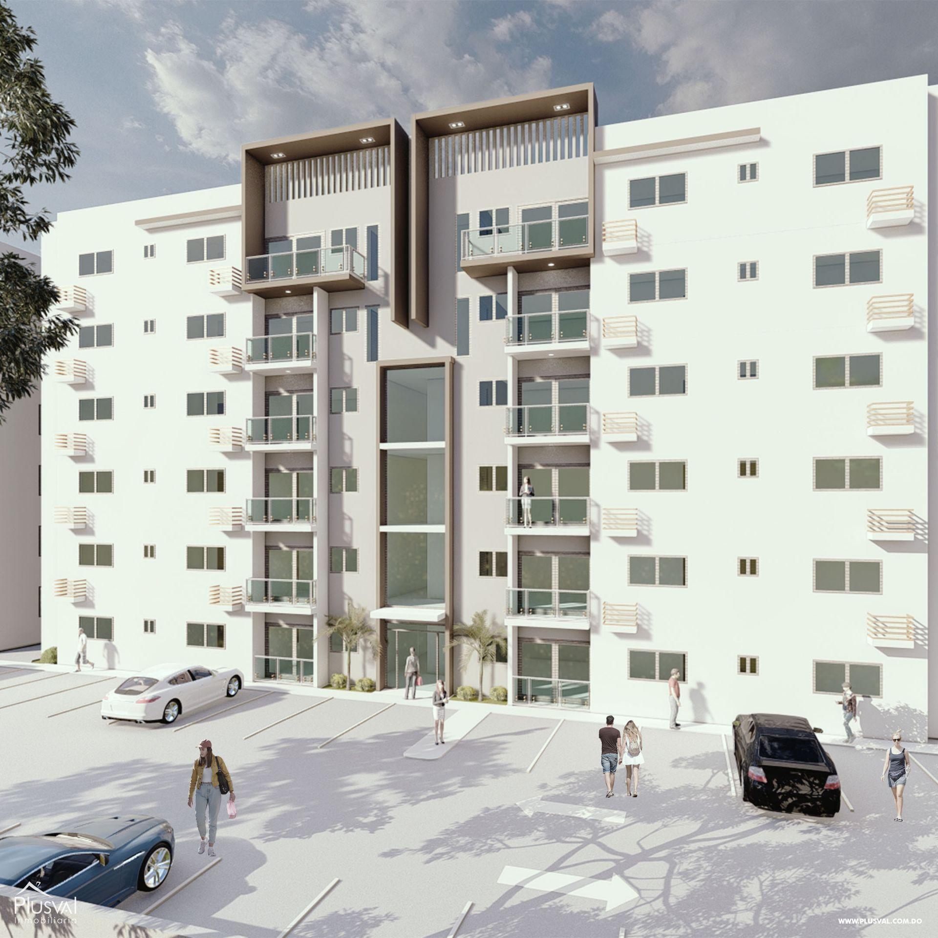 Moderno Proyecto de Apartamentos en Santiago 166987