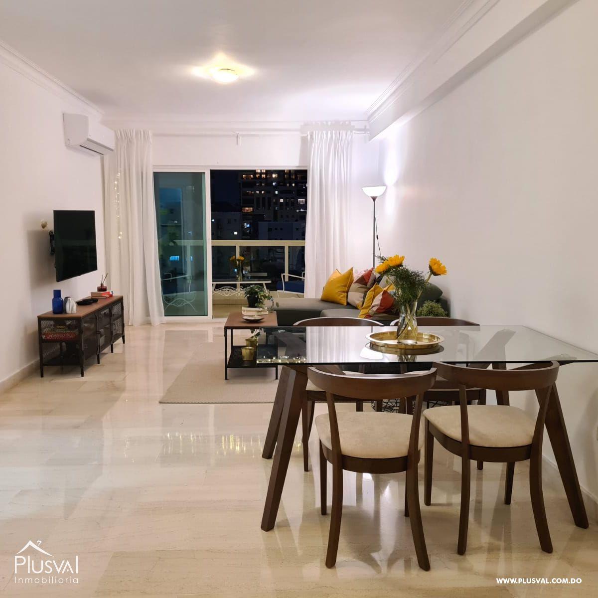 Apartamento amueblado en alquiler, Naco 188909