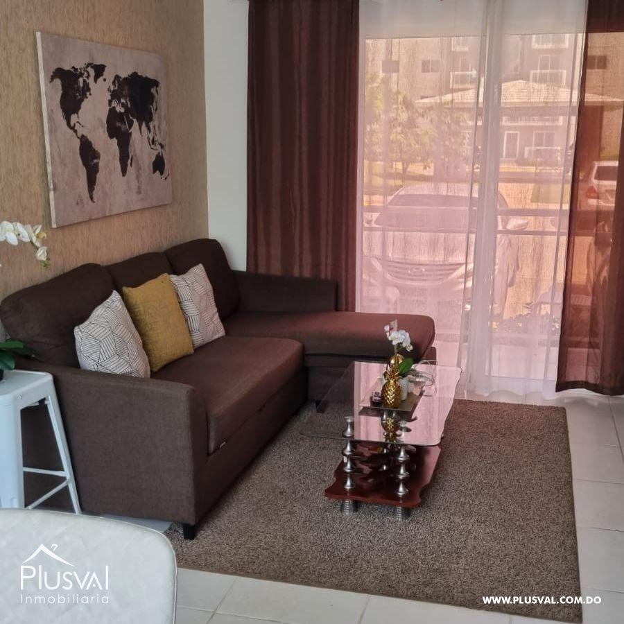 Apartamento completamente amueblado, con todos sus hierros de protección, camara de seguridad, en Residencial Terrazul 189061