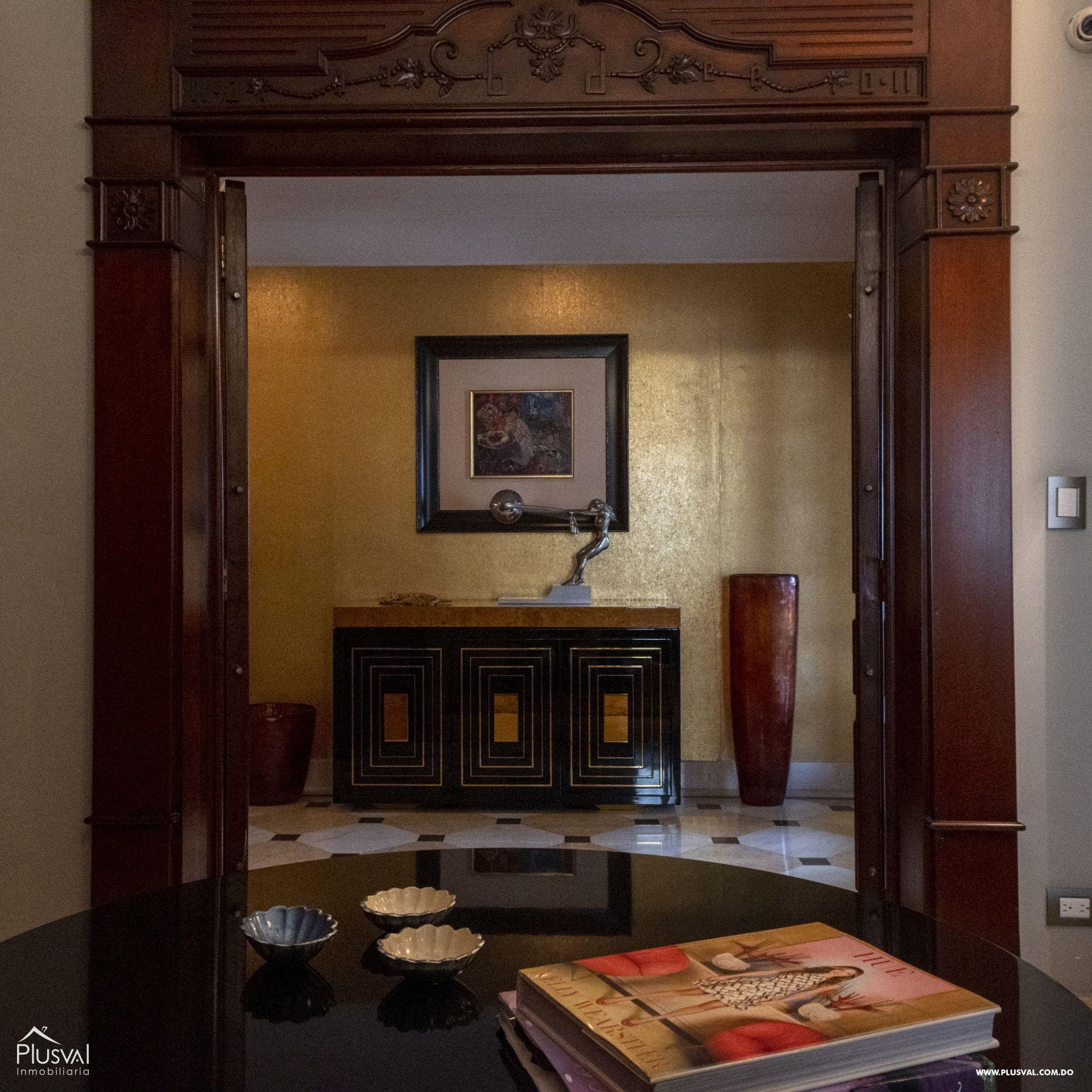 Penthouse en Venta en Naco con 8 parqueos 155364