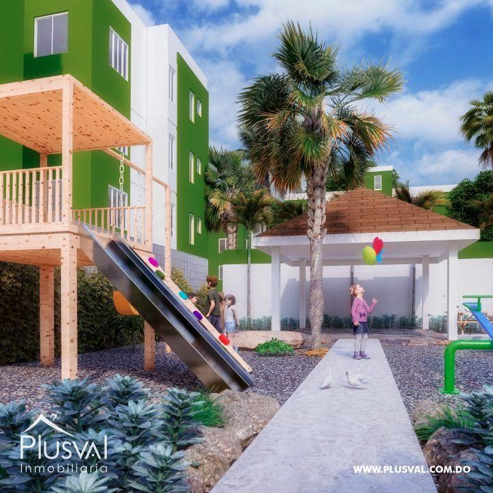 Apartamentos en Primer Nivel Ciudad Juan Bosch