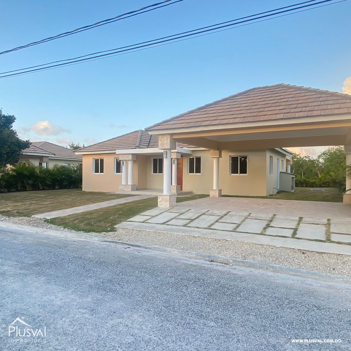 Proyecto exclusivo de casas con piscina en Punta Cana 174079