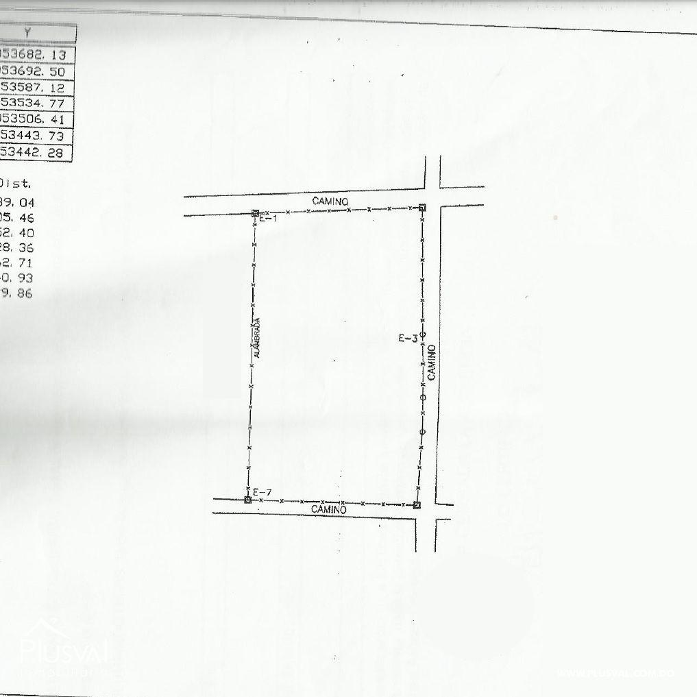 Terreno con 34,587.22 m2 en Venta en Km. 22 justo detrás del Merca Santo Domingo 162782