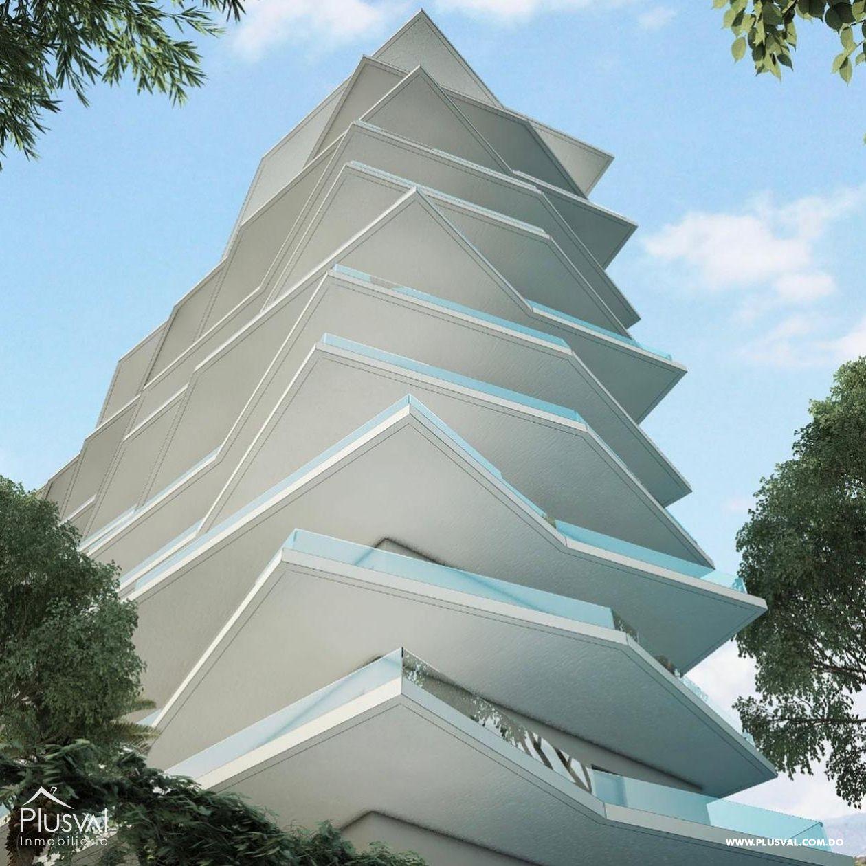 Moderna torre de apartamentos ubicada en la Av. Salvador Estrella Sadhalá