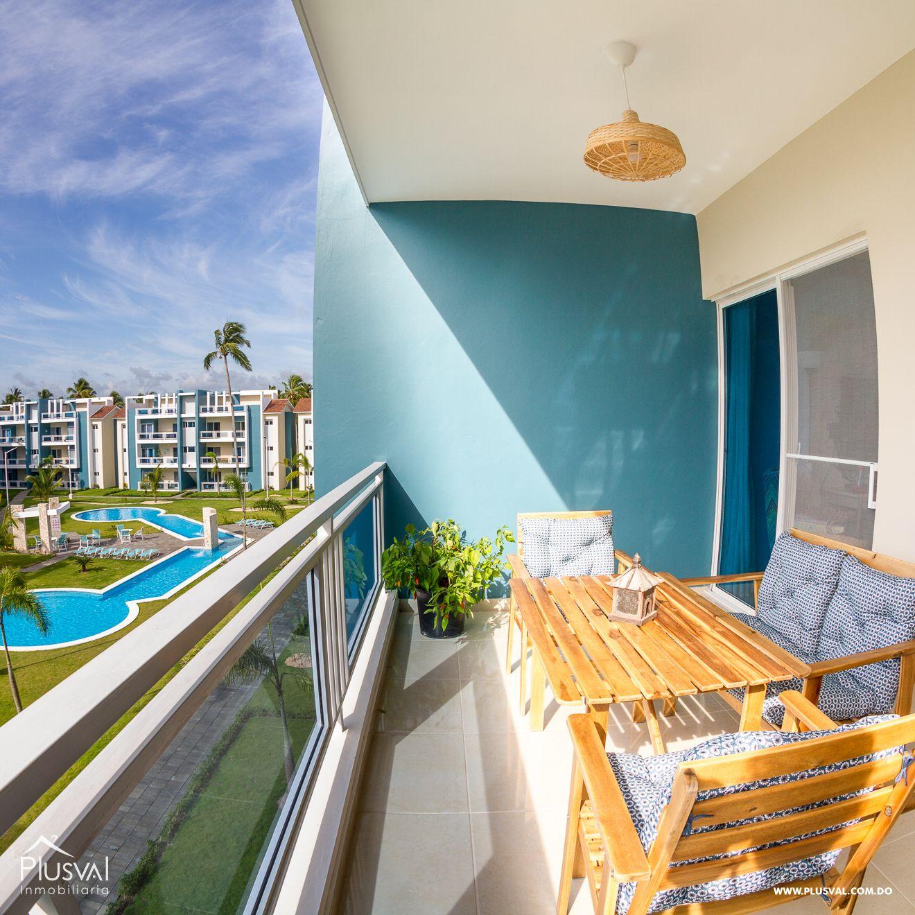 Apartamento Totalmente equipado en Venta en Complejo Turistico de 2 Habitaciones. 150934