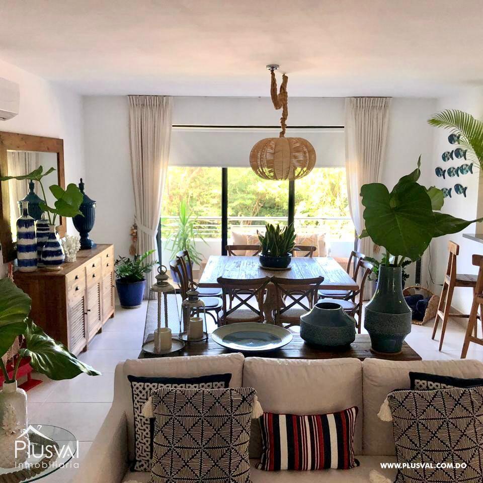 Apartamento de 2 habs amueblado en Venta, en Puntacana Village con piscina 167254