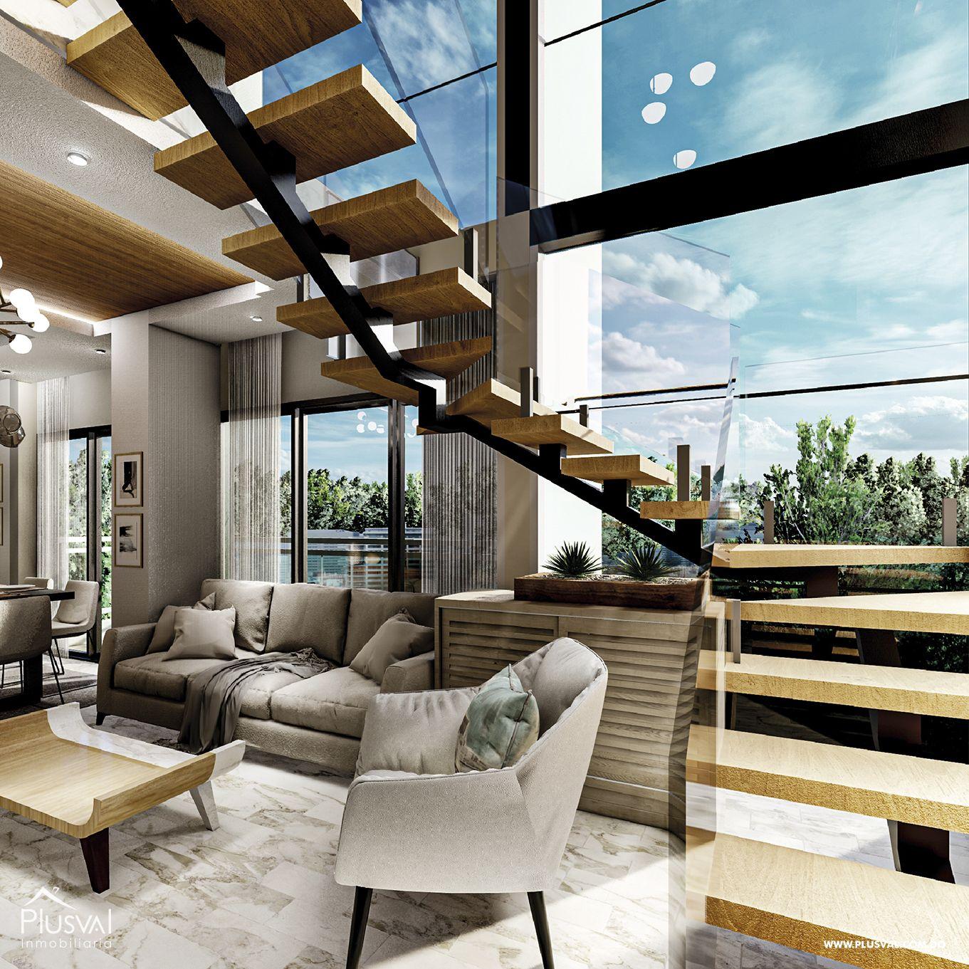 Penthouse en proyecto residencial moderno - Carretera Mella