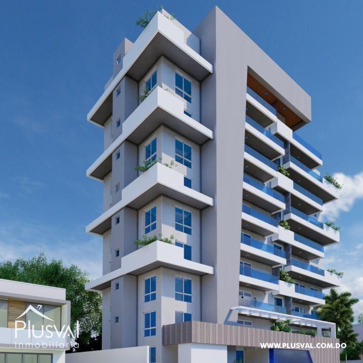 Moderna torre con área social en La Moraleja
